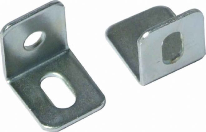 20 Steel Angle Brackets 15mm x 15mm x 13mm with adjust slot D014
